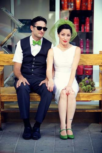 свадебное платье от Ирины Киперман