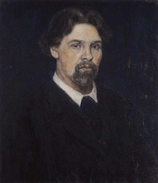 В.И.Суриков. Автопортрет. 1913