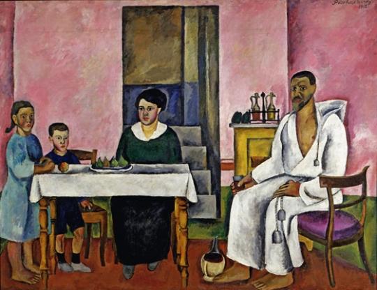 П.П.Кончаловский. Автопортрет с семьей.