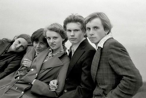 встреча одноклассников, 1977г., Москва