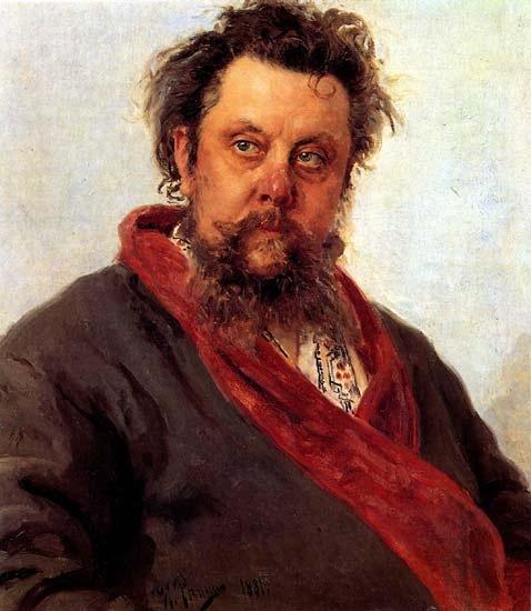 И.Е.Репин. Портрет М.П.Мусоргского. 1881. Третьяковская галерея