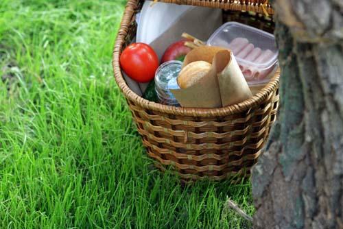 Корзина для пикника от Меркато