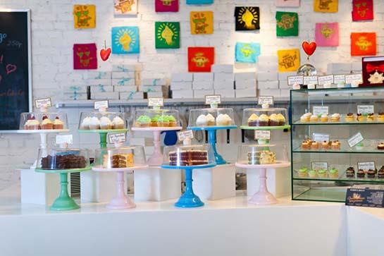 кафе Upside Down Cake & Co