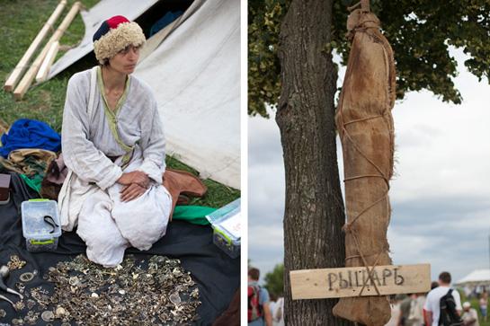 Исторический фестиваль «Времена и эпохи» в Коломенском