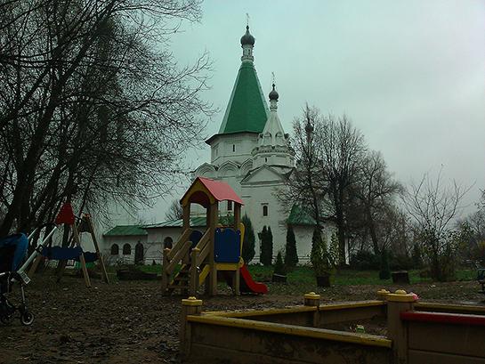 Троицкое-Голенищево, церковь Троицы Живоначальной