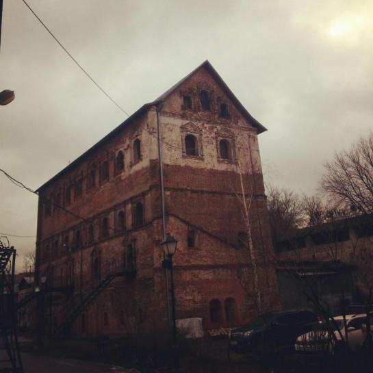 Сушильня Симоновского Монастыря 16 век