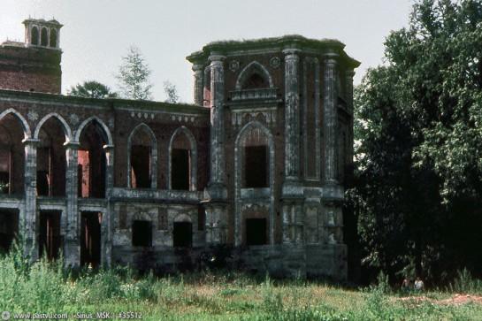 Музей-заповедник Царицыно. Руины Большого дворца 1986г.