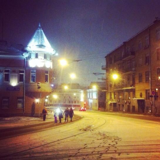 Уютная Москва