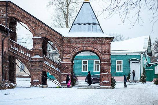 Крутицкое Подворье и Новоспасский Монастырь с Аленой Круговой