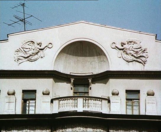 dom pod angelami