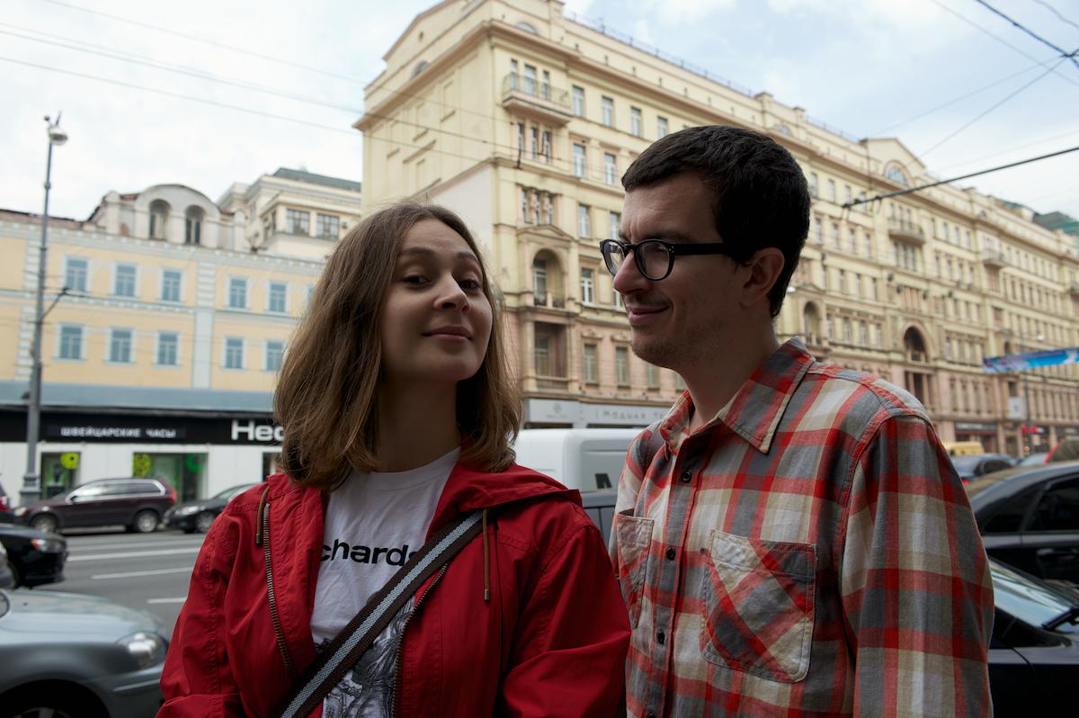 Москвичи о Москве: Алена и Денис