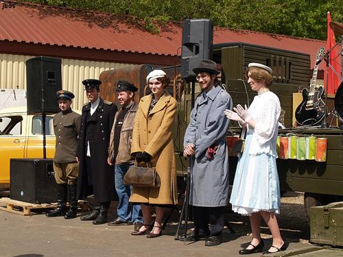 Музей советских автомобилей в парке Кузьминки