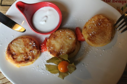 сырники в Кафе Андерсон