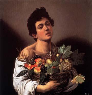 «Юноша с корзиной фруктов» 1593