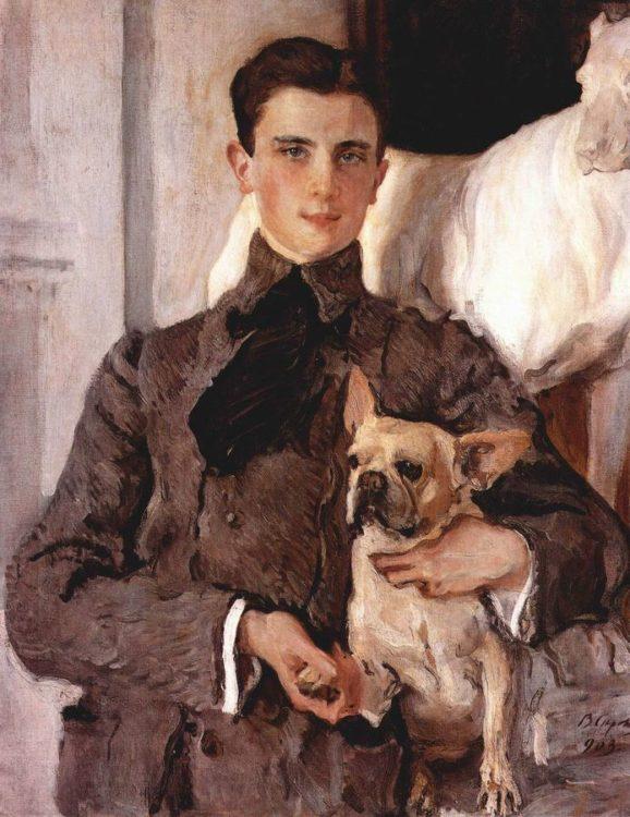 Феликс Юсупов, портрет В.А. Серова