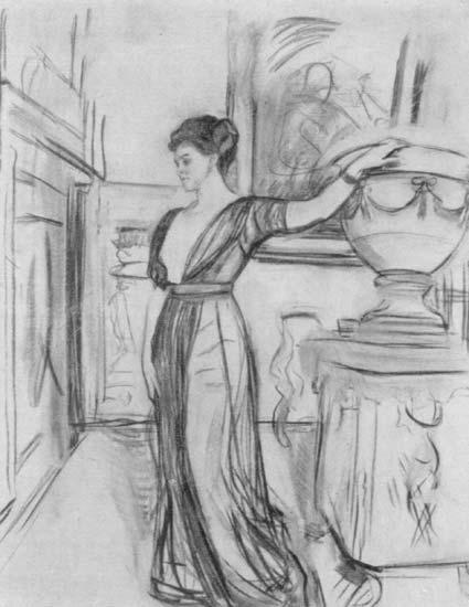 В.А.Серов. Портрет П.И.Щербатовой. 1911. Третьяковская галерея