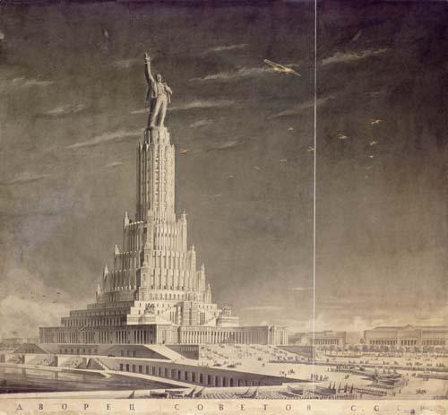 неосуществленный проект Дворца Советов Б.Иофана