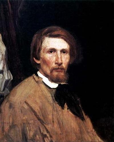 В.М.Васнецов. Автопортрет. 1873. Третьяковская галерея