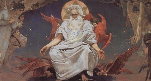 В.М.Васнецов. Бог Саваоф.