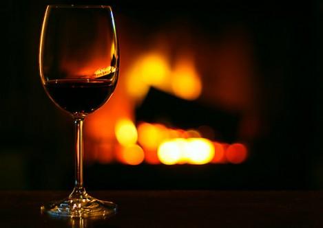 вино и шашлык