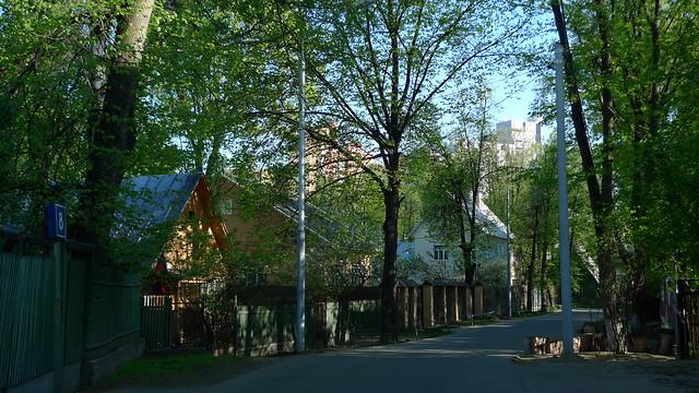Поселок художников на Соколе