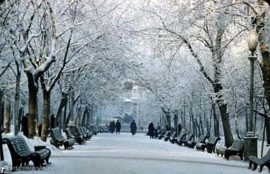 Московская зима