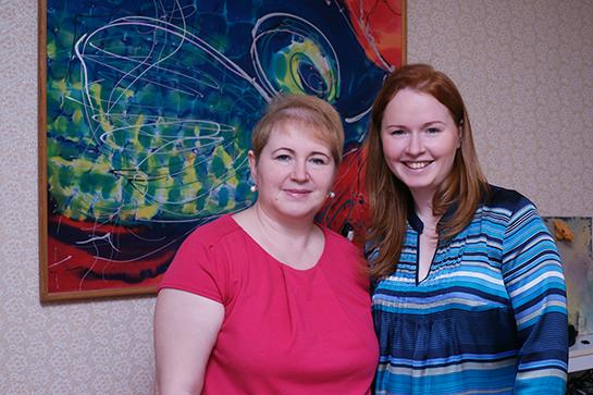 Ксения и Ольга Ждановы
