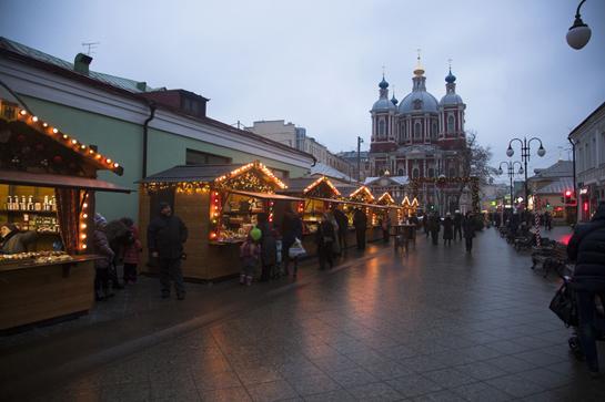 Ярмарка в Климентовском переулке
