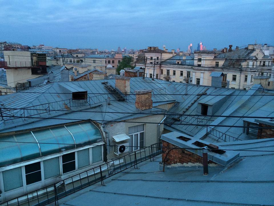 Рассвет на крыше