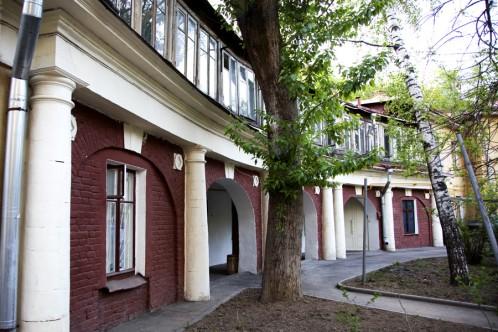 Московский дворик на Пречистенке, 32