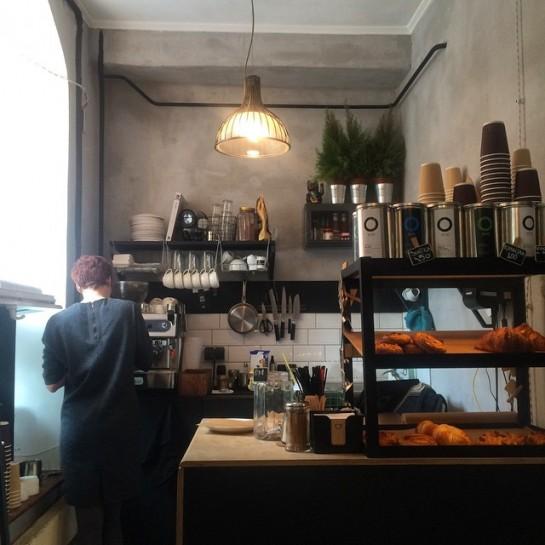 David B. Cafe Coffee & Sandwich Bar
