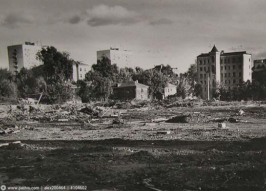 Cлом домов к Олимпиаде - Тополев переулок
