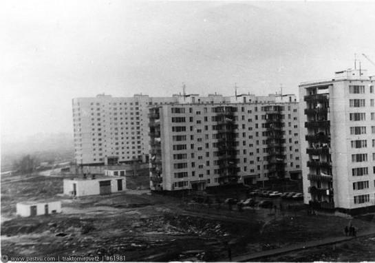 Улица Конёнкова. 70-е
