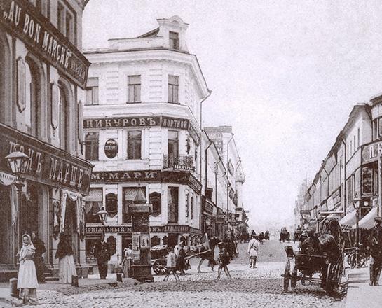 дом на углу Дмитровки и Камергерского