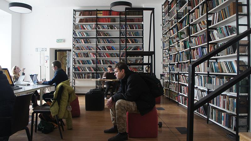 Библиотека имени Достоевского