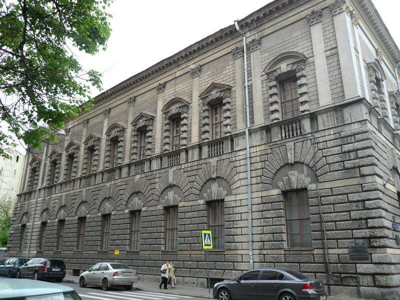 Дом Тарасова на Спиридоновке